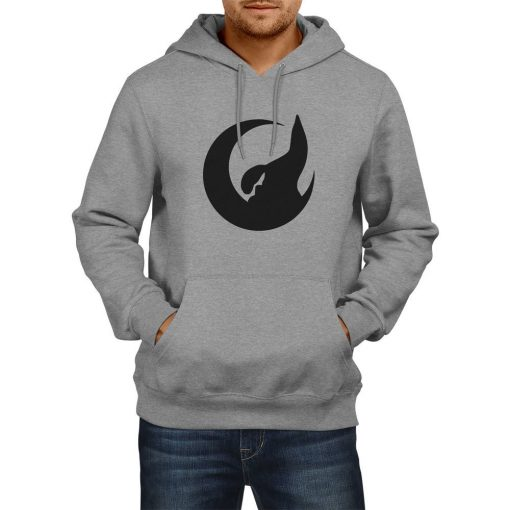 Crescent and Wolf Hooded Sweatshirt