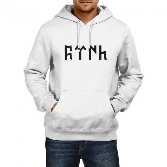 Göktürk Alphabet Turkish Hoodie Sweatshirt