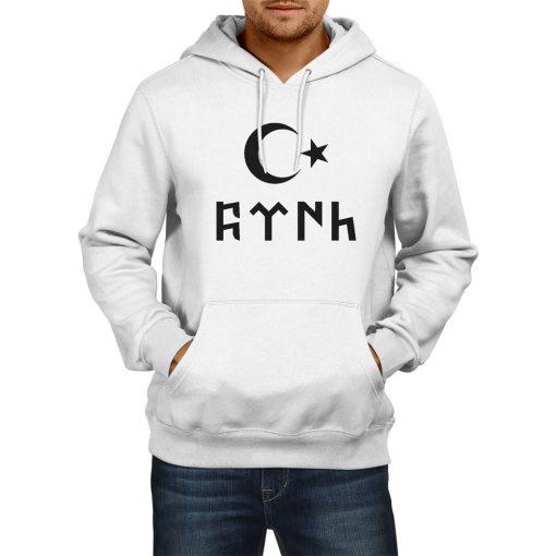 Gokturk Alphabet and Moon Star Hooded Sweatshirt 2 510x510 - Gokturk Alphabet and Moon Star Hooded Sweatshirt