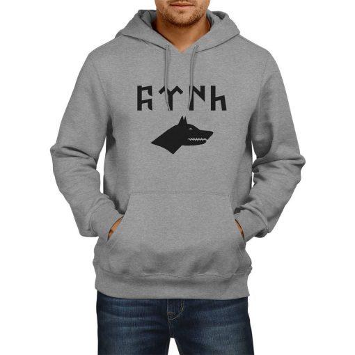Gray Wolf Gokturk Alphabet Hooded Sweatshirt 3 510x510 - Gray Wolf Gokturk Alphabet Hooded Sweatshirt