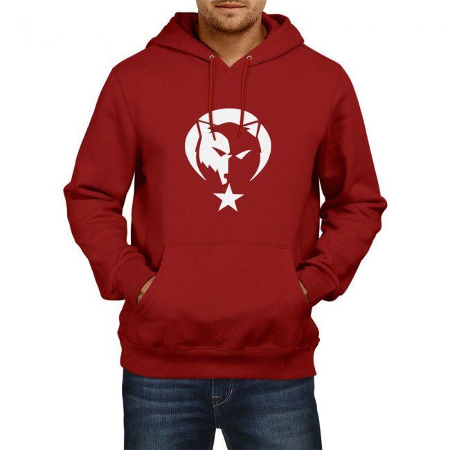 Gray Wolf Hooded Sweatshirt 2 650x650 - Gray Wolf Hooded Sweatshirt