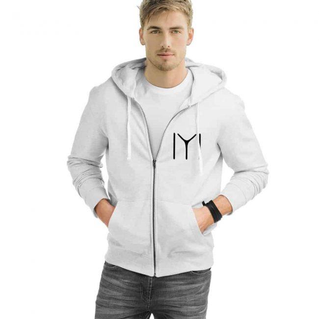 Kayı Tribe Zipped Hooded Sweatshirt