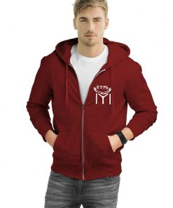 Kayi Tribe Zipped Hooded Sweatshirt 2 247x296 - Kayı Tribe Eagle Zipped Hooded Sweatshirt