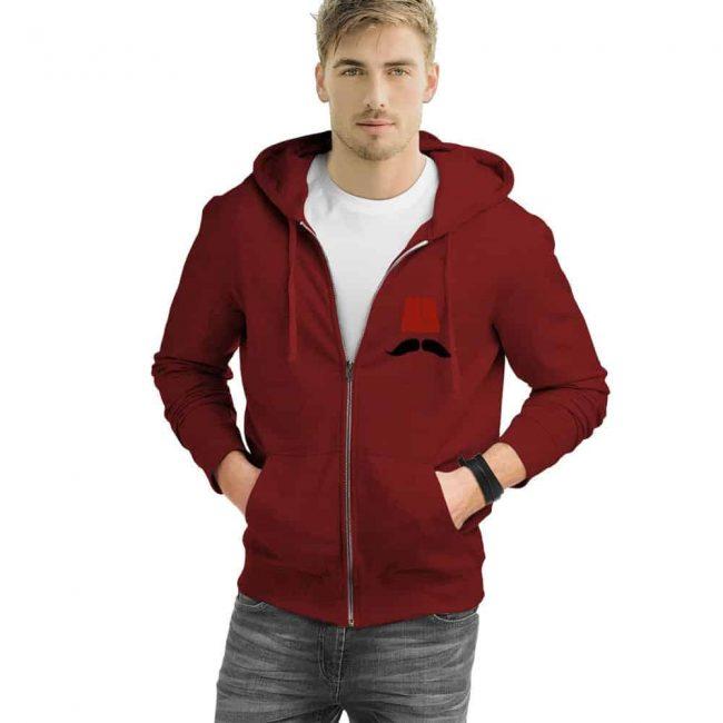 Ottoman Fez Turkish Zipped Sweatshirt 2 650x650 - Ottoman Fez Turkish Zipped Sweatshirt