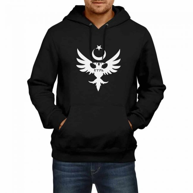 Seljuk Empire Hooded Sweatshirt 4 650x650 - Seljuk Empire Hooded Sweatshirt
