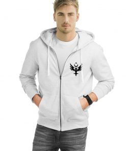 Seljuk Zipped Hooded Sweatshirt