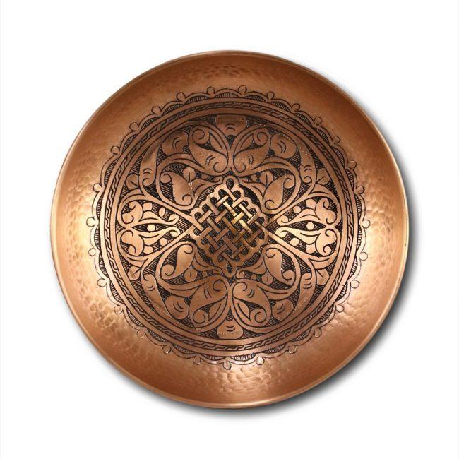 Turkish Copper Hammam Bath Bowl