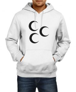 Three Crescent Hooded Sweatshirts