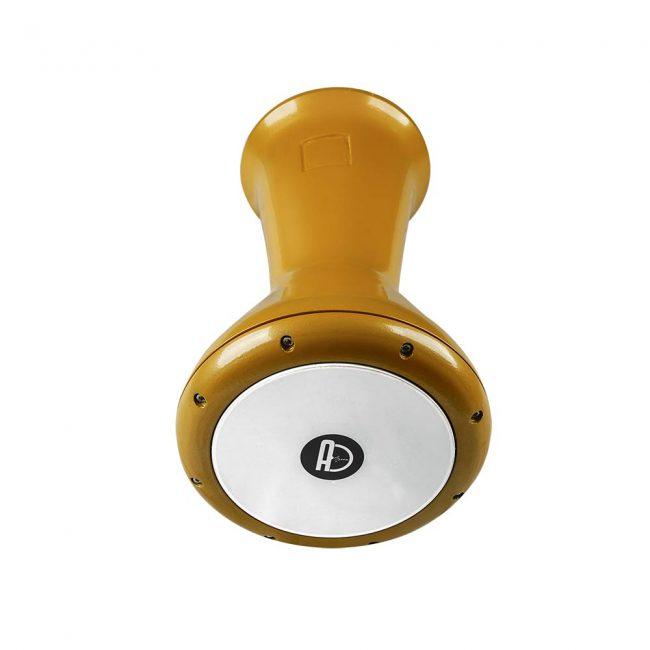 Agean Pro Cast Drum Darbuka in Yellow 1 650x650 - Pro Cast Darbuka In Yellow 22 Cm