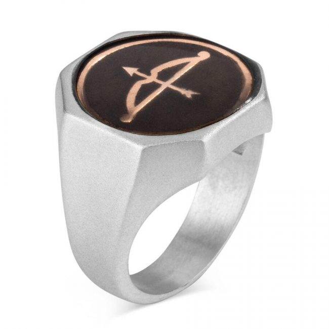 buy silver mens ring