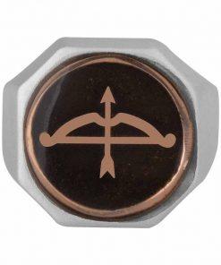 Buy Great Seljuk Arrow Bow Motif Diagonal Design Enameled Silver Mens Ring 2 247x296 - Home
