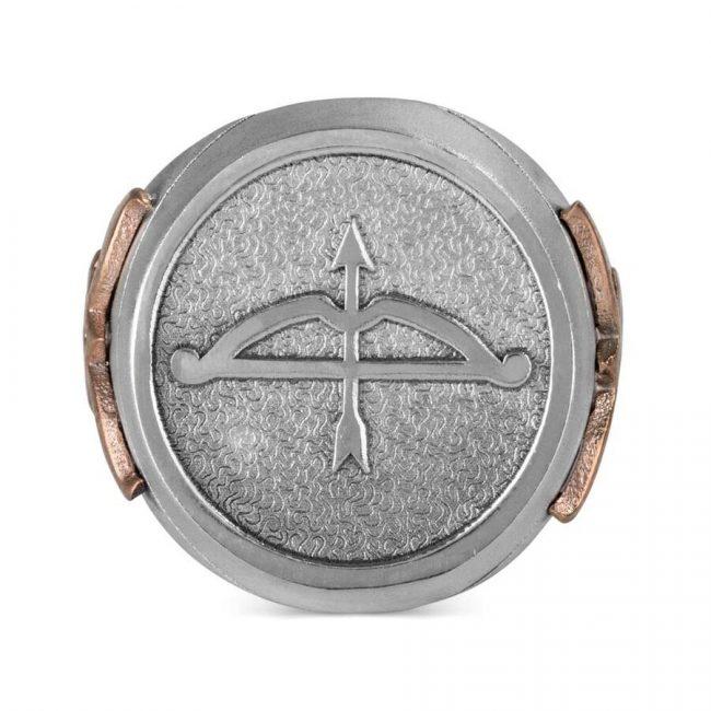 Buy Online Great Seljuk Arrow Bow Motif Silver Mens Ring 2 650x650 - Great Seljuk Arrow Bow Motif Silver Men's Ring