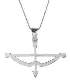 Tozkoparan Arrow Bow Horizontal Cut Silver Necklace 1 247x296 - Home