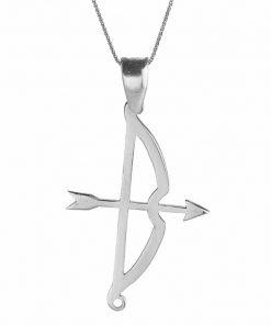 Tozkoparan Arrow Bow Vertical Cut Silver Necklace 1 247x296 - Home