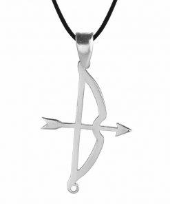 Tozkoparan Arrow Bow Vertical Cut Silver Necklace 2 247x296 - Home