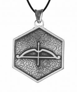 Tozkoparan Square Design Arrow Bow Silver Necklace 2 1 247x296 - Home