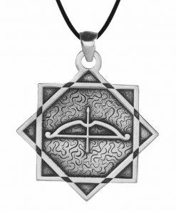 Tozkoparan Universe Cycle Arrow Bow Silver Necklace 2 247x296 - Home