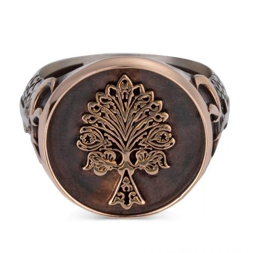 Tree of Life Silver Ring with Three Crescents 2 510x510 - Tree of Life Silver Ring with Three Crescents