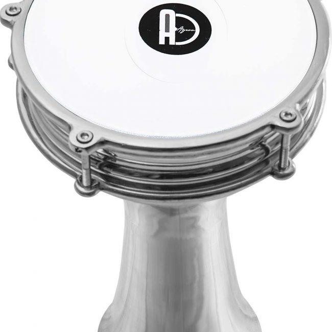 darbuka shop drum 1 650x650 - Agean Alumınıum Plain Darbuka No 4