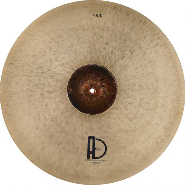 """Agean Ride Cymbals Extreme Ride Turkish Cymbals 4 650x650 - Ride Cymbals 24"""" Extreme"""
