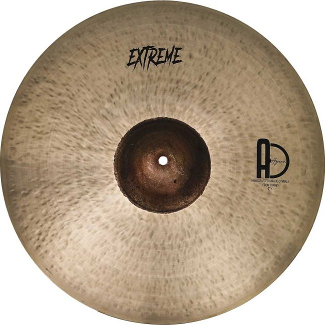 """Agean Ride Cymbals Extreme Ride Turkish Cymbals 5 650x650 - Ride Cymbals 24"""" Extreme"""