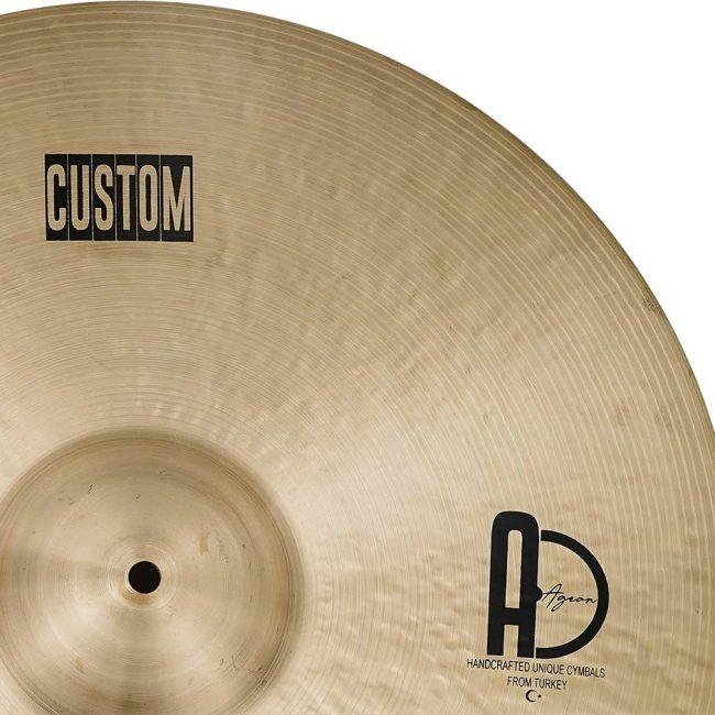 "Drum Cymbal Custom Ride Cymbal 4 650x650 - Ride Cymbals 24"" Custom"