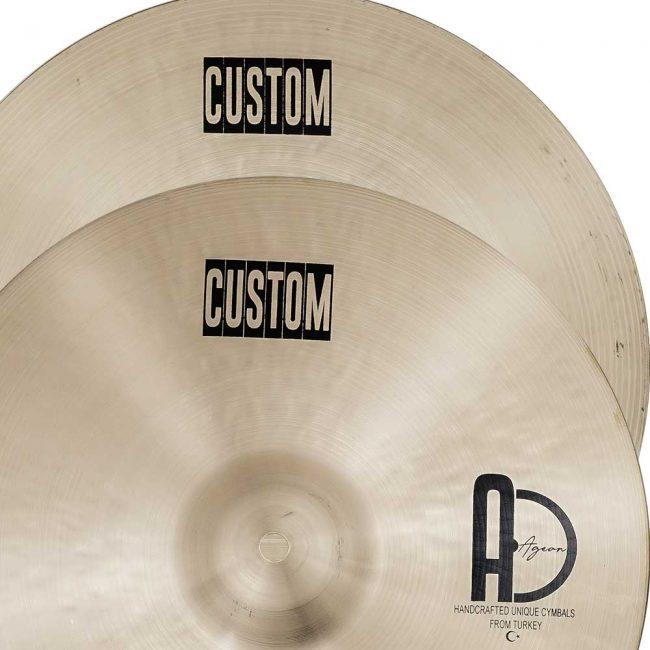 Hi Hat Cymbals Custom 1 650x650 - Hi-hat Cymbals Custom