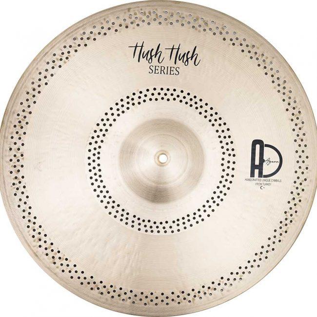 "Ride Cymbals Hush Hush Ride 3 650x650 - AGEAN Cymbals 14"" Hush Hush Crash"