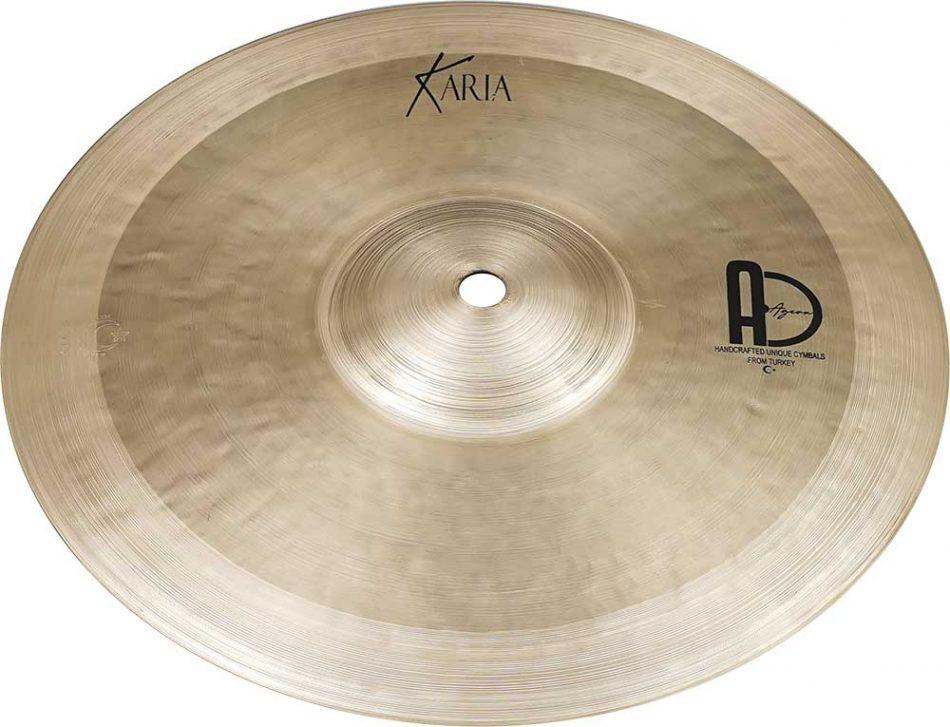 "Splash Cymbal Karia Turkish 3 950x727 - Splash Cymbals 7"" Karia"