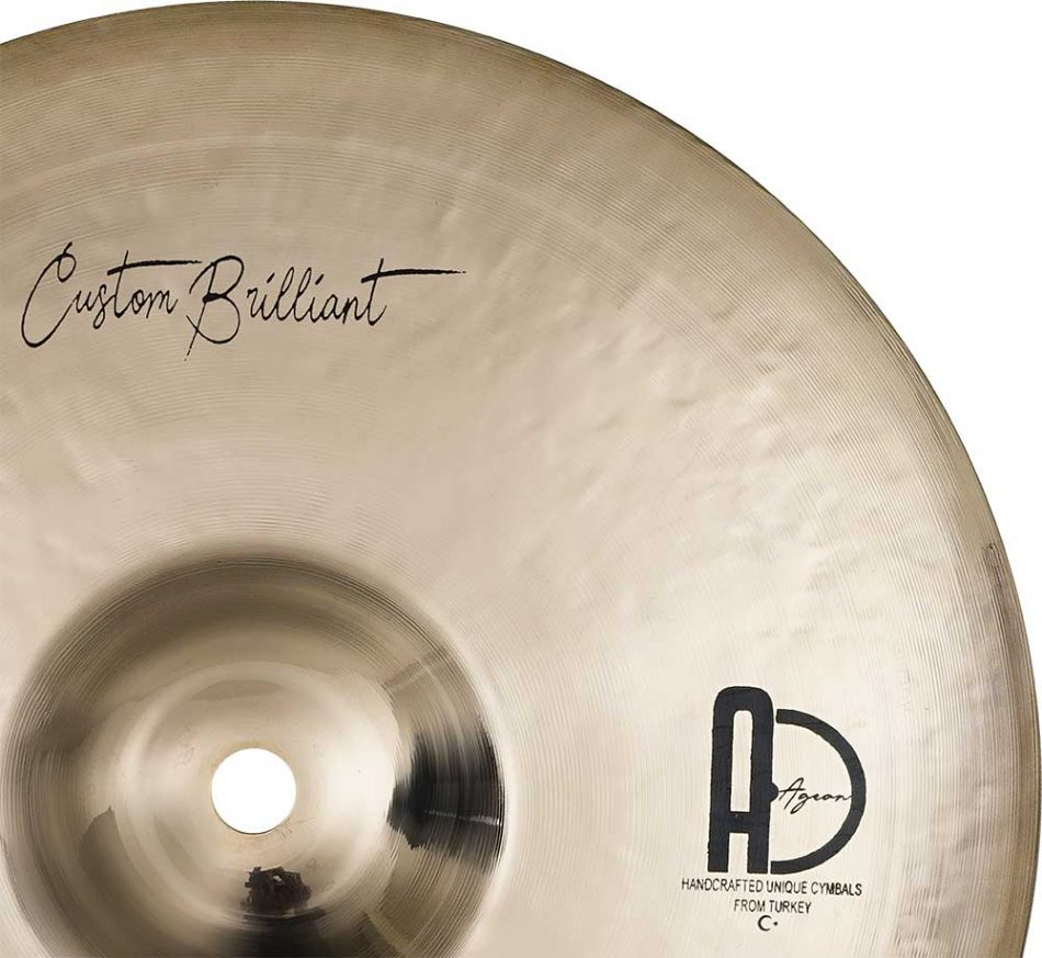 """Splash Cymbals Custom Brilliant Splash Turkish Cymbals 4 950x873 - Splash Cymbals 12"""" Custom Brillant"""