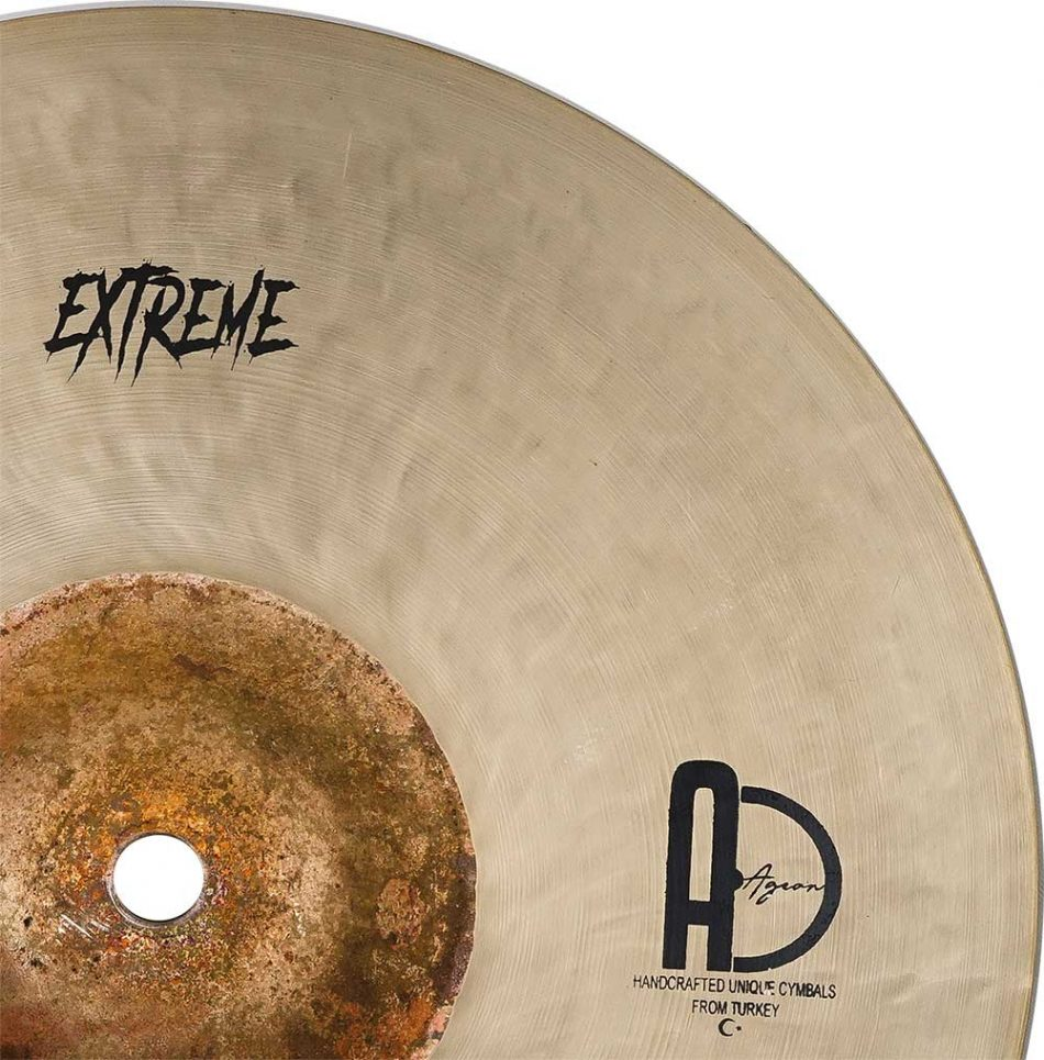 "Splash Cymbals Extreme Splash Turkish Cymbals 4 950x965 - Splash Cymbals 7"" Extreme"