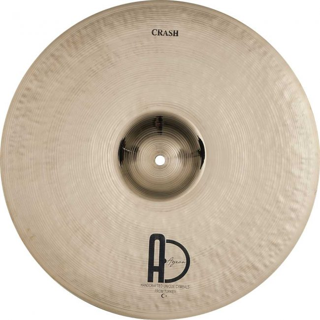 "Turkish Drum Cymbals Custom Brilliant Crash1 650x650 - Crash Cymbals 18"" Custom Brilliant"