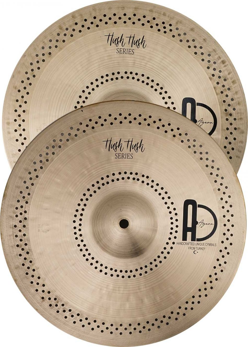 Hi-Hat Cymbals For Sale Hammered
