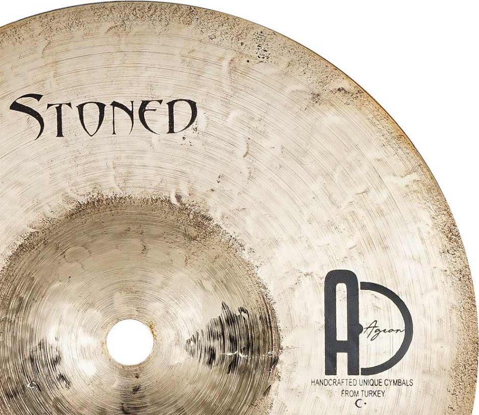 "drum cymbals stoned splash 4 950x824 - Splash Cymbals 8"" Stoned"