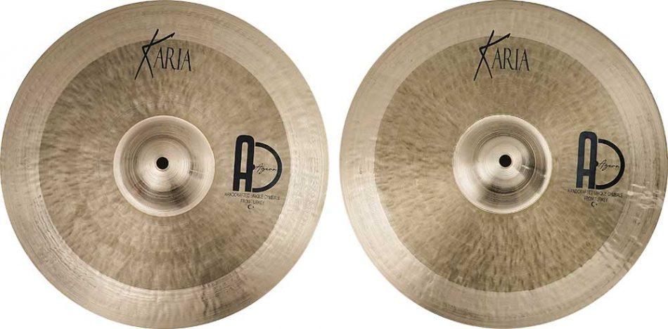 hi hat cymbals Karia Hi Hat 2 950x468 - Hi-Hat Cymbals Karia