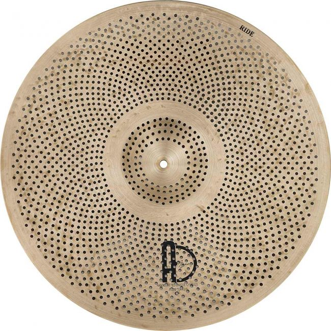 """low volume cymbals Natural R Ride 1 650x650 - Ride Cymbals 20"""" Natural R Low Noise"""