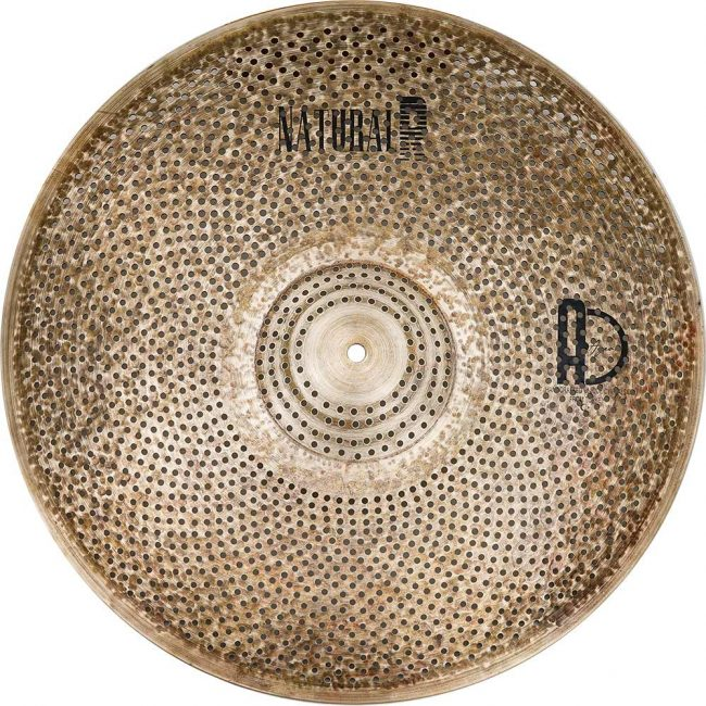 """low volume cymbals Natural R Ride 2 650x650 - Ride Cymbals 20"""" Natural R Low Noise"""