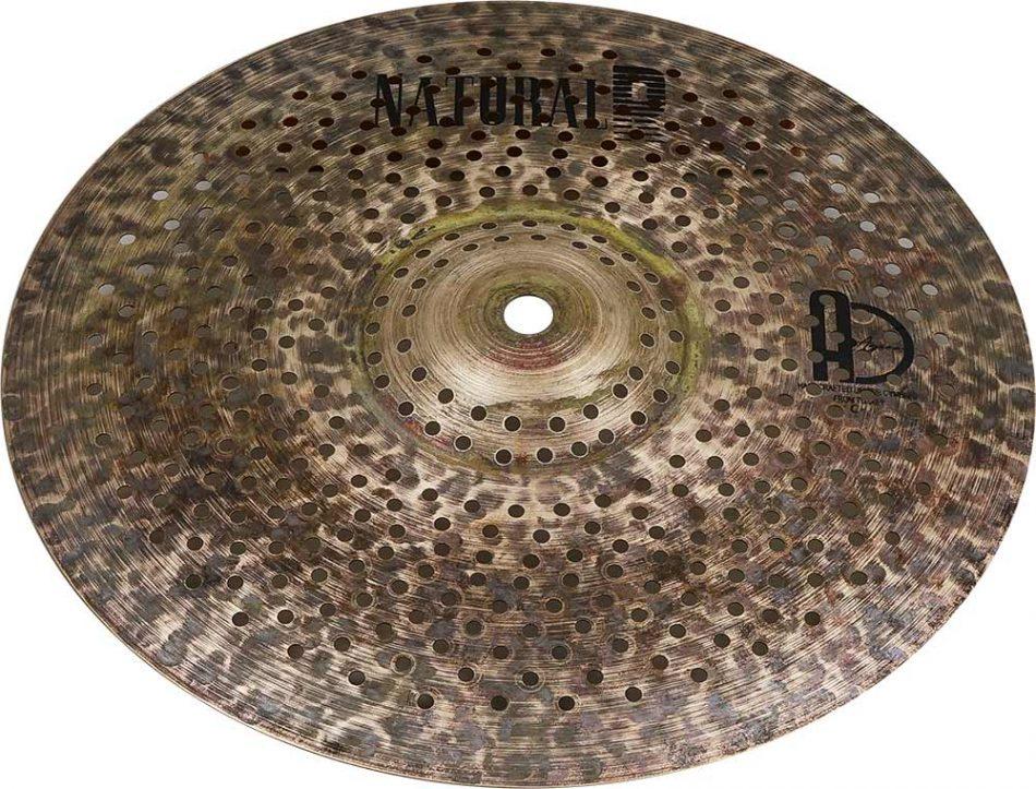 "low volume cymbals Natural R Splash 4 950x723 - Splash Cymbals 10"" Natural R Low Noise"