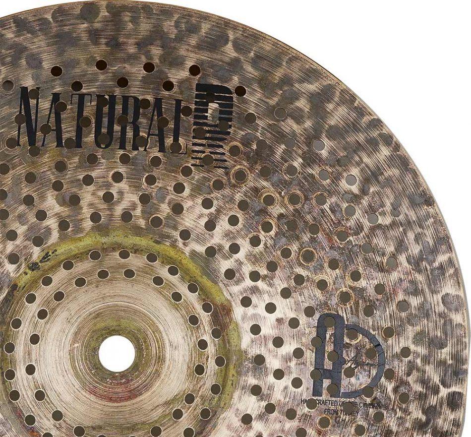 "low volume cymbals Natural R Splash 5 950x881 - Splash Cymbals 10"" Natural R Low Noise"