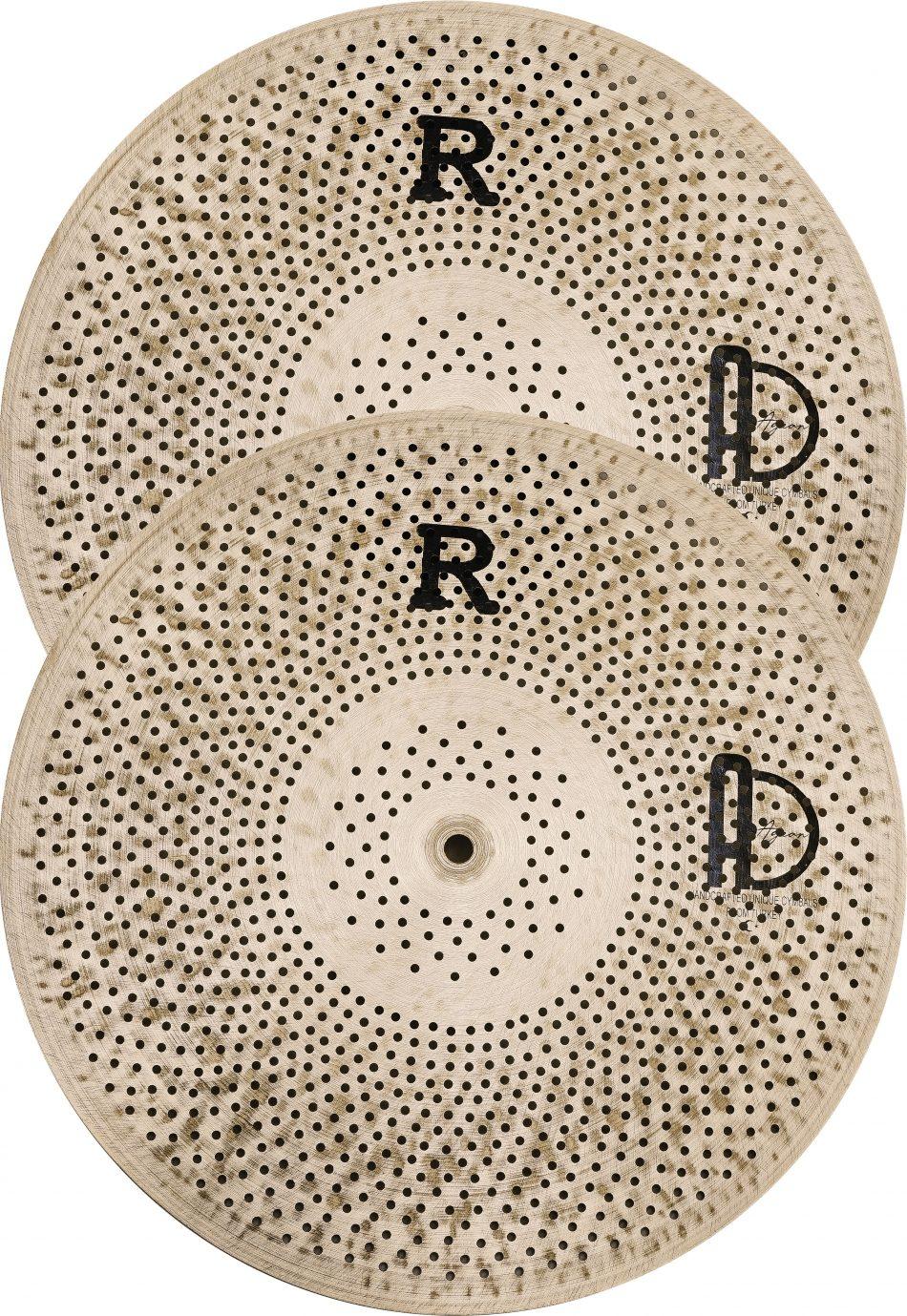 ön yüzden hithat kopyasi 950x1379 - Hi-hat Cymbals Flat R Low Noise