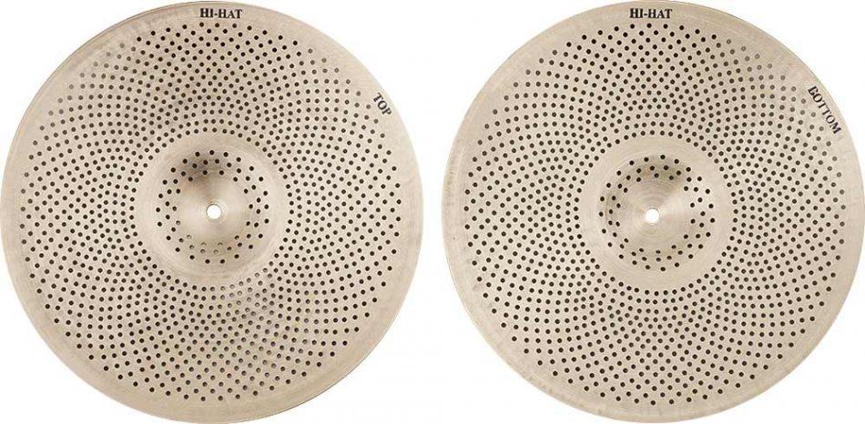 types of drum cymbals Natural R Hi hat 5 950x466 - Hi-Hat Cymbals Natural R Low Noise