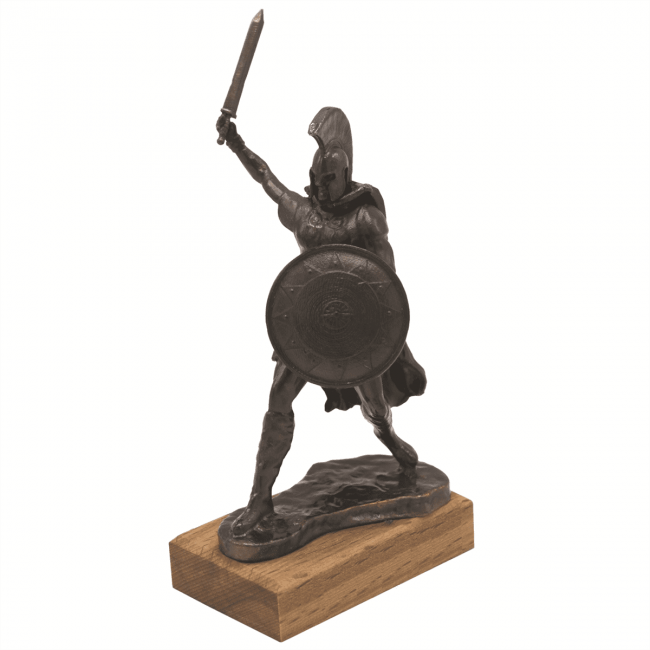 Hector Metal Statue 650x650 - Home