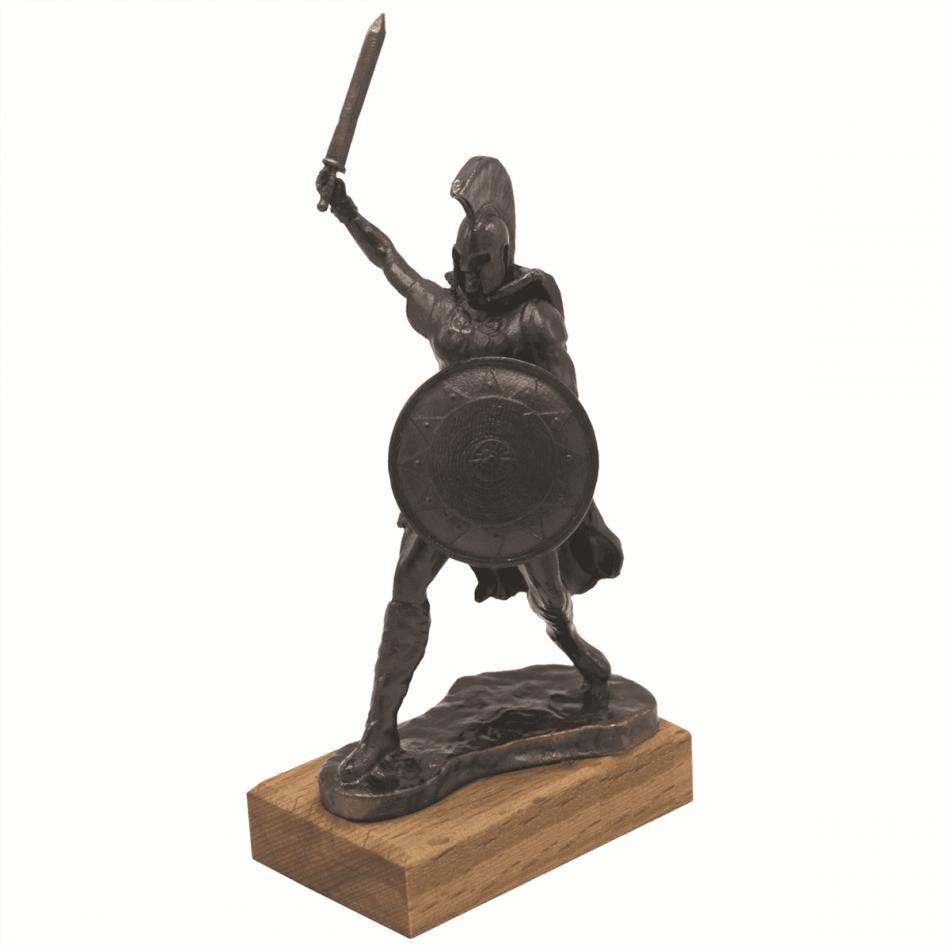 Hector Metal Statue