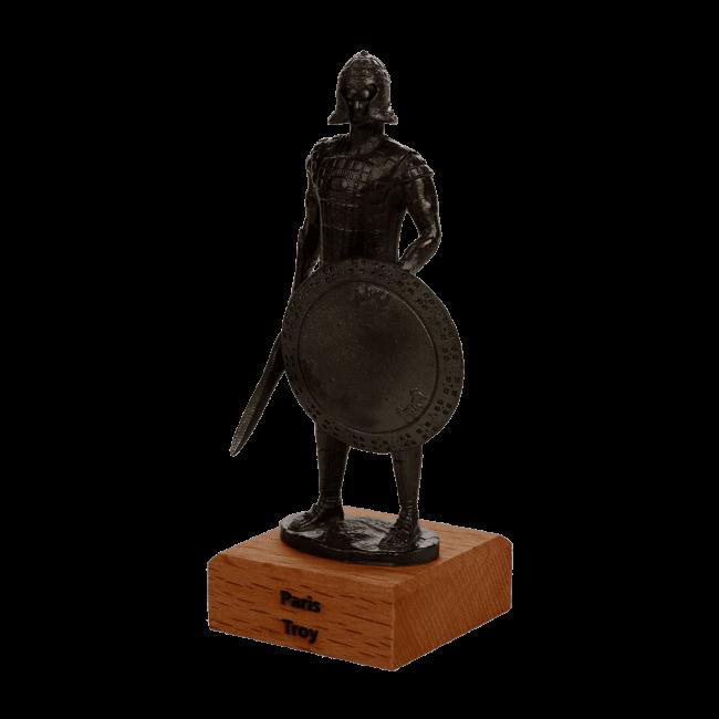 Paris Metal Statue