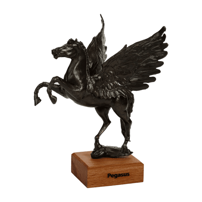 Pegasus Metal Statue