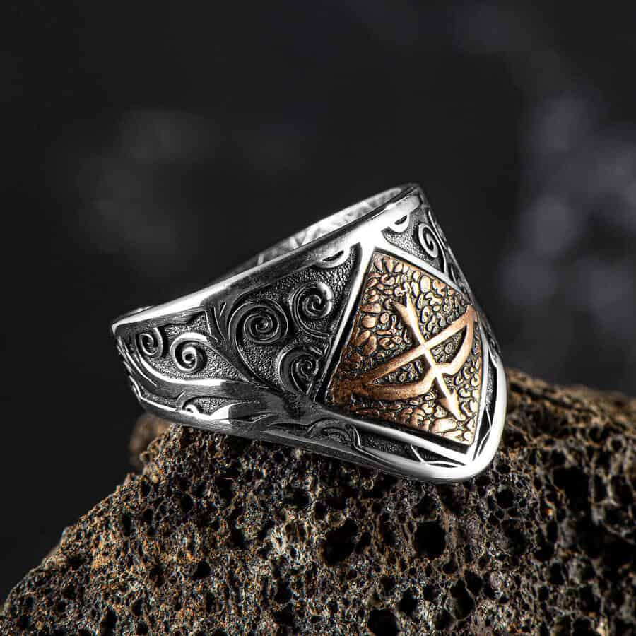 Ottoman Archer thumb ring