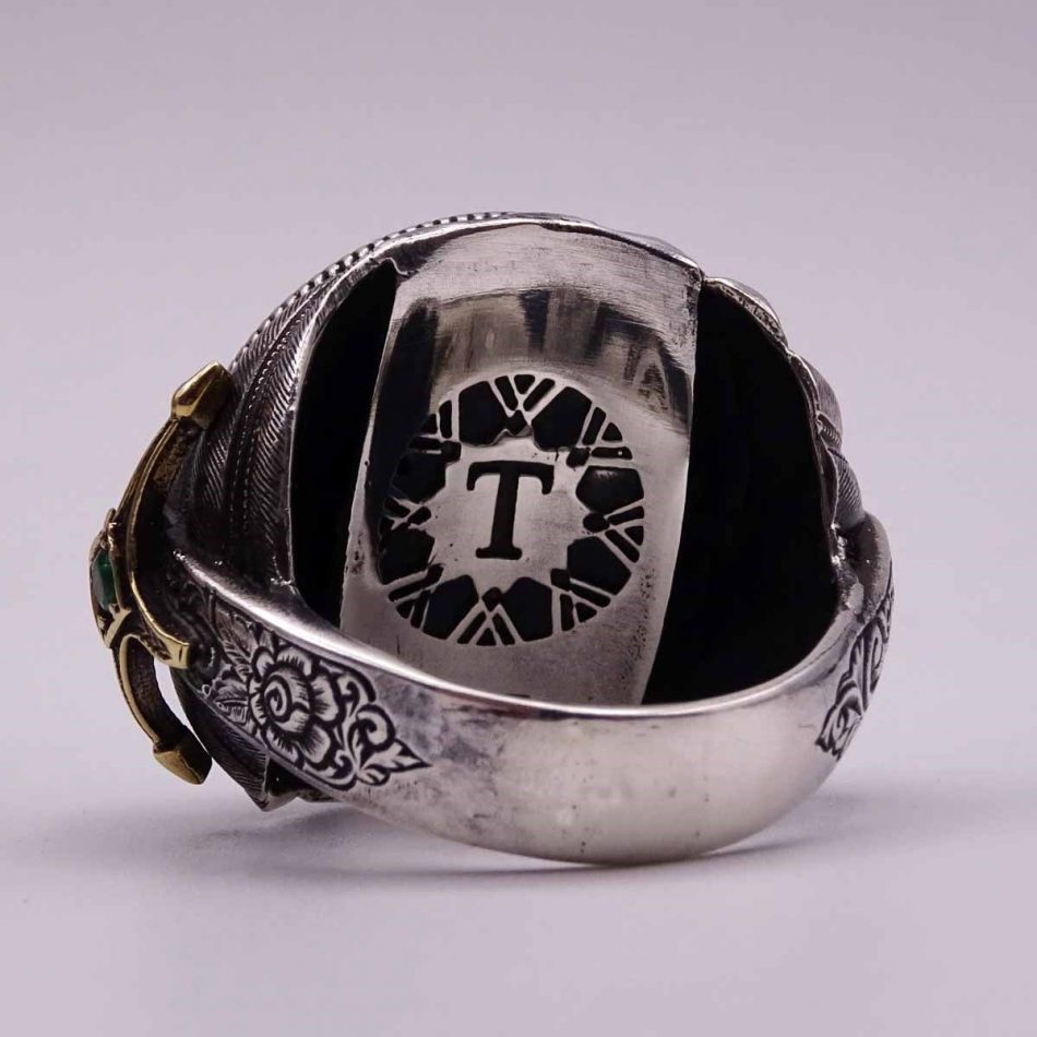 Turkish Silver Rings For 3 1 950x950 - Alhamdulillah Written Silver Ring For Men