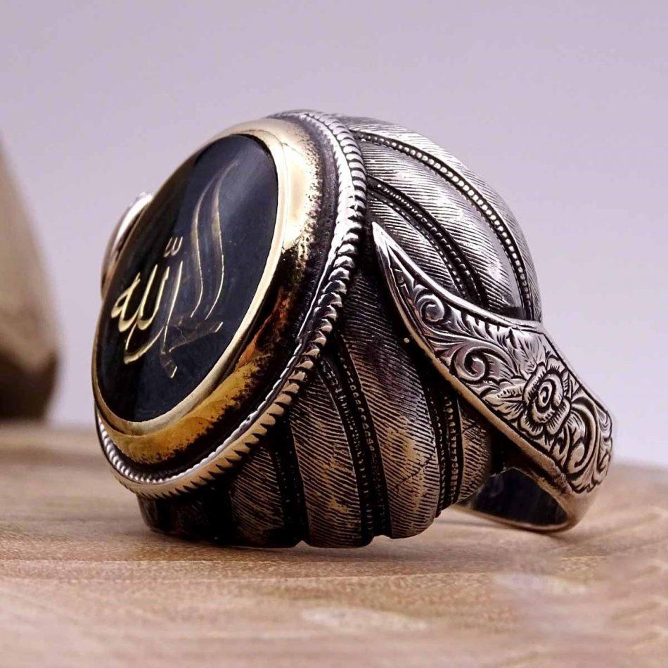 Turkish Silver Rings For 5 950x950 - Alhamdulillah Written Silver Ring For Men